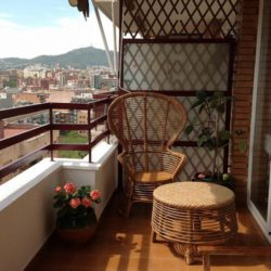 Fantastic Furnished Balcony with Views of the Neighborhood