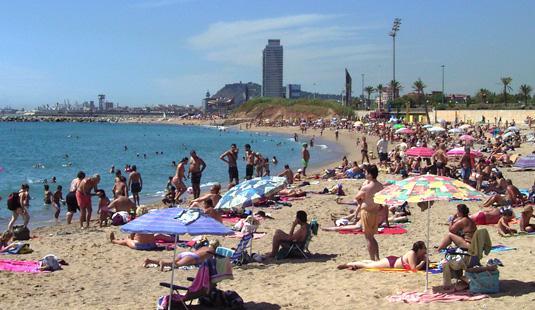 Spiaggia gay a barcellona
