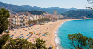 Lloret de Mar Top View