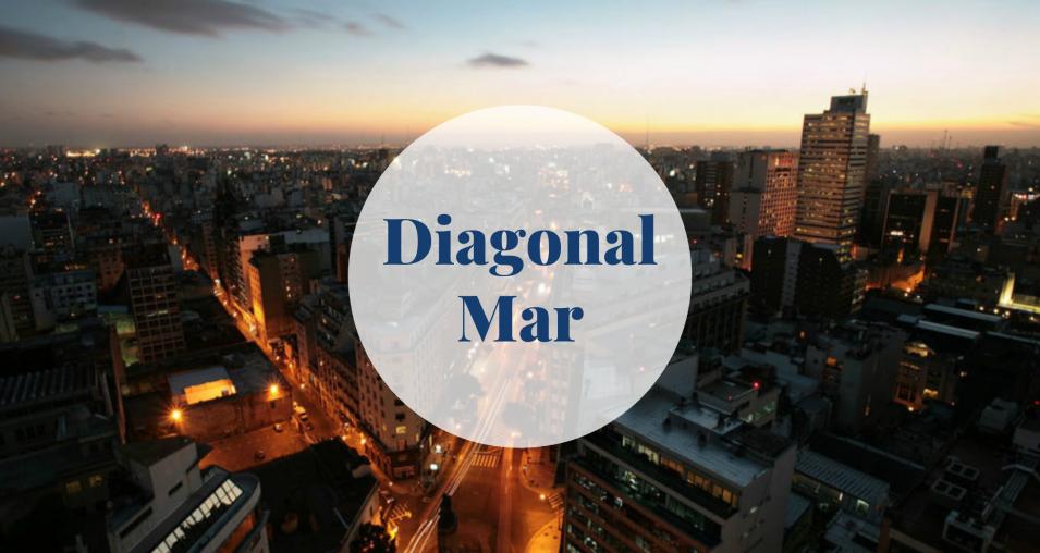 Diagonal Mar in Sant Martín, Barcelona Barcelona-Home