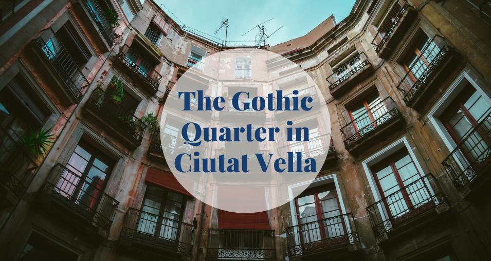 The Gothic Quarter in Ciutat Vella Barcelona-Home