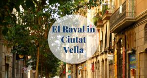 El Raval in Ciutat Vella Barcelona-Home