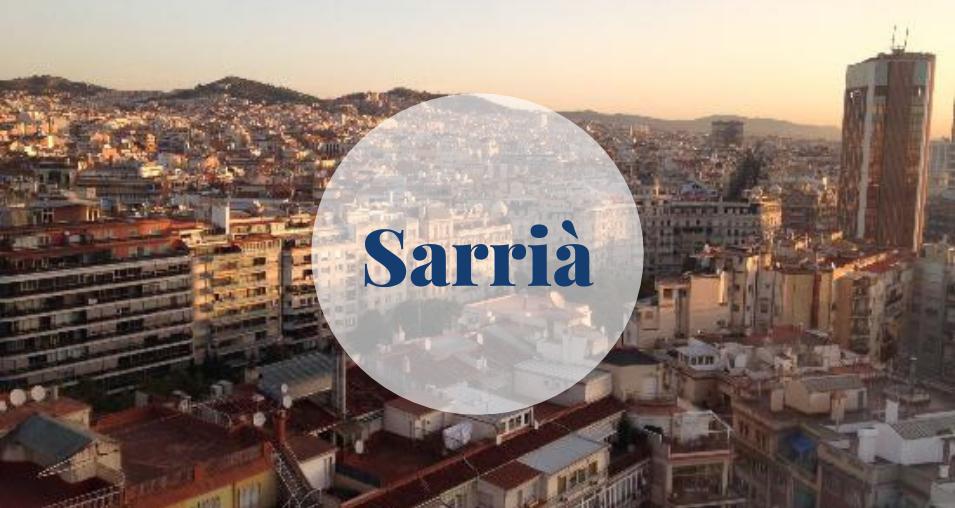 Sarrià in Sarrià-Sant Gervasi, Barcelona Barcelona-Home