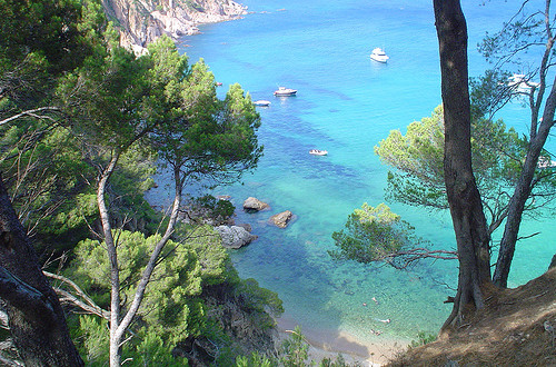 Beaches of Tossa de Mar