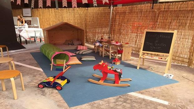 Kids playground inside