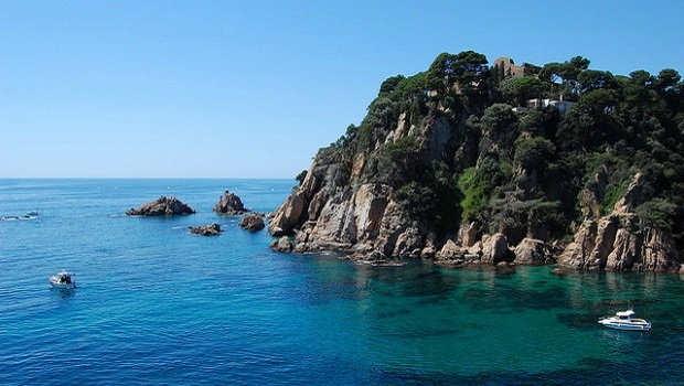 Coastline of Costa Brava