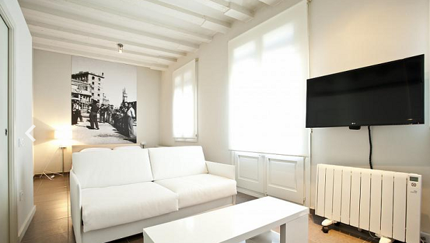 Studio with Sea Views in Barceloneta