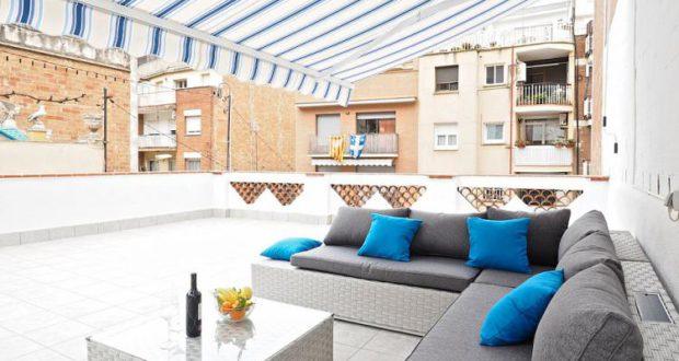 Casa con 3 camere da letto, 2 terrazze e parcheggio