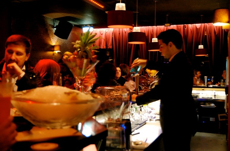 slow bar; Barcelona-Home
