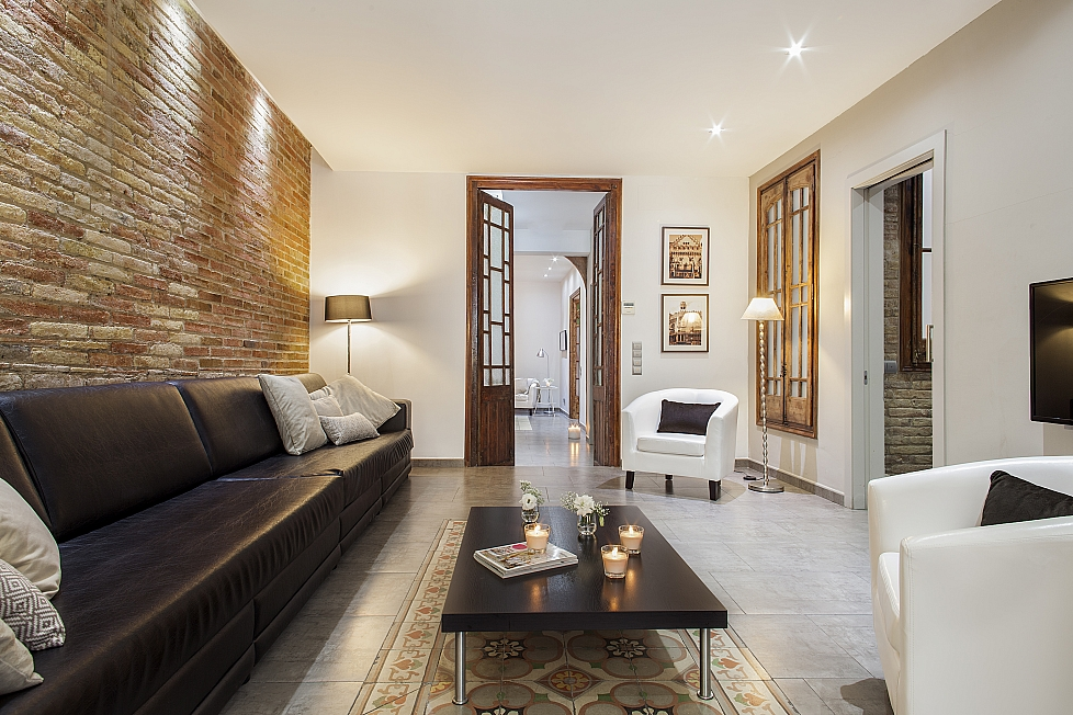 apartment mit privater Terrasse, Barcelona