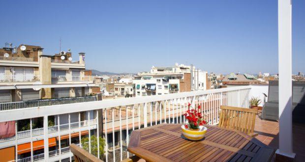 Appartamenti terrazzo barcellona un extra che migliorer for Alloggi a barcellona