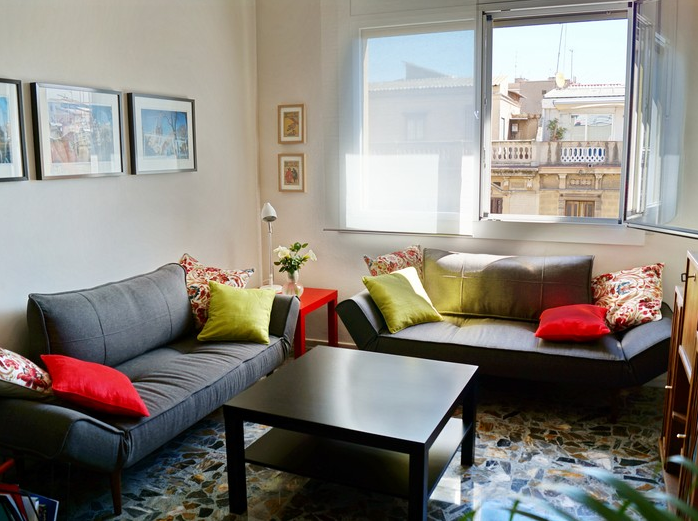 Barcelona economic flats for rent