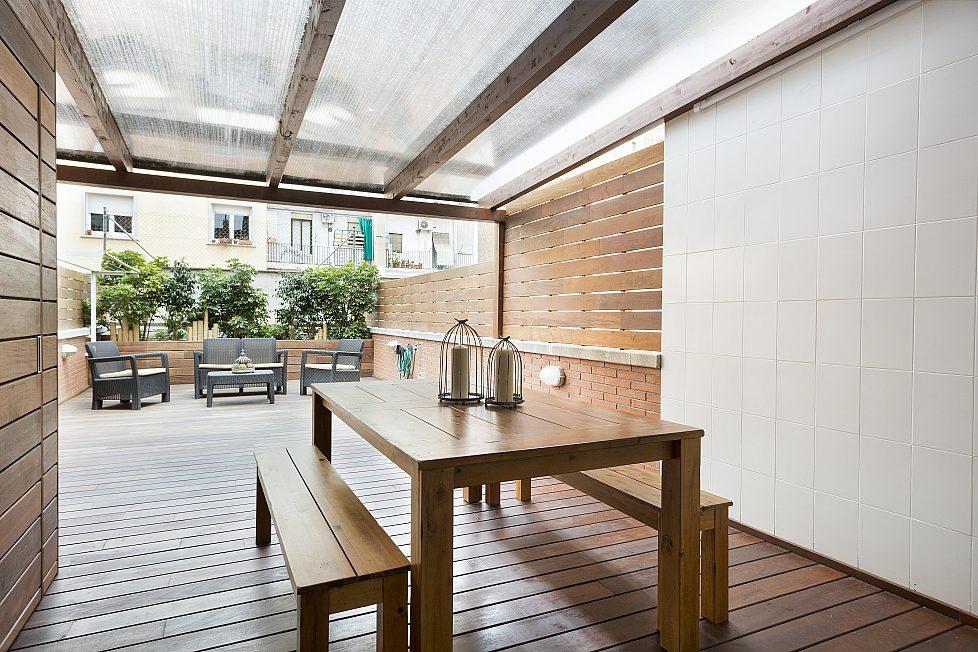 House with terrace, Barcelona Plaza Espanya