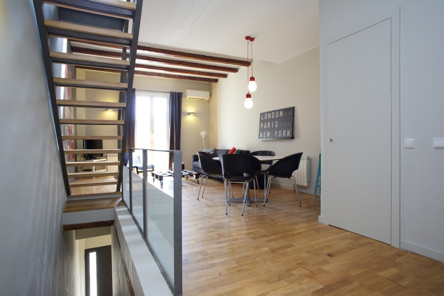 Duplex suite apartment in Sagrada Familia