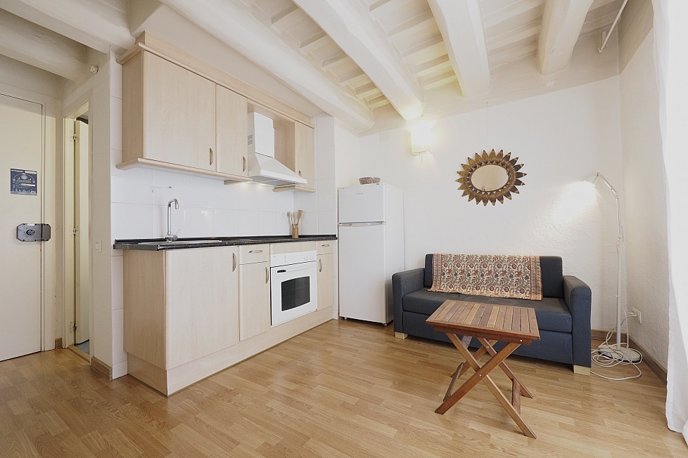 Studio apartment in Barcelona