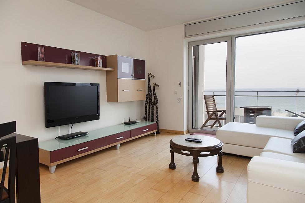 Duplex mit Meerblick in Barcelona