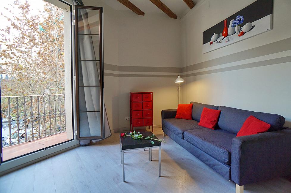 Beau loft à louer près de la Casa Batllo