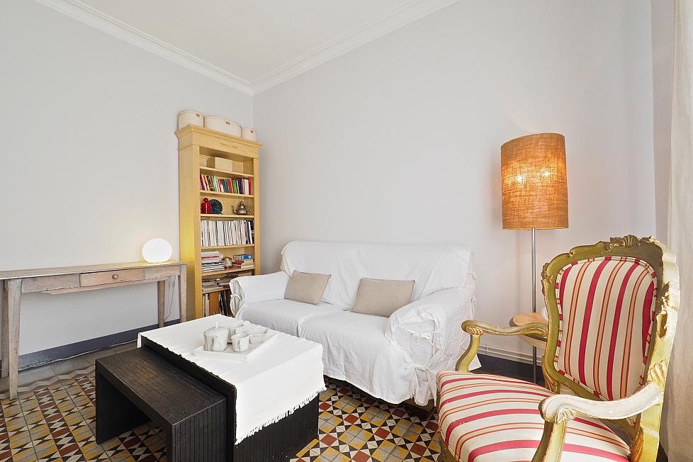 Vintage 2-Zimmer- Wohnung in Eixample