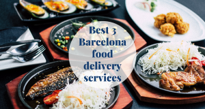 Best 3 Barcelona food delivery services Barcelona-Home
