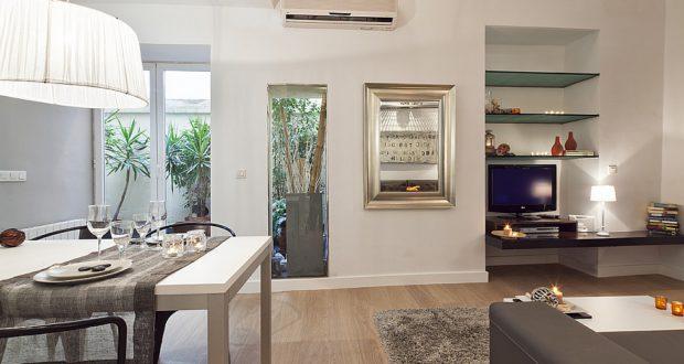 Rent ground floor apartment Barcelona