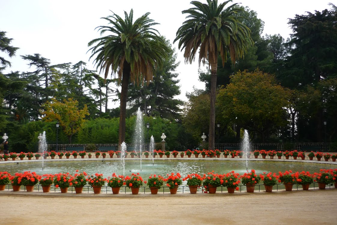 Most beautiful parks in barcelona barcelona home for Jardines de pedralbes