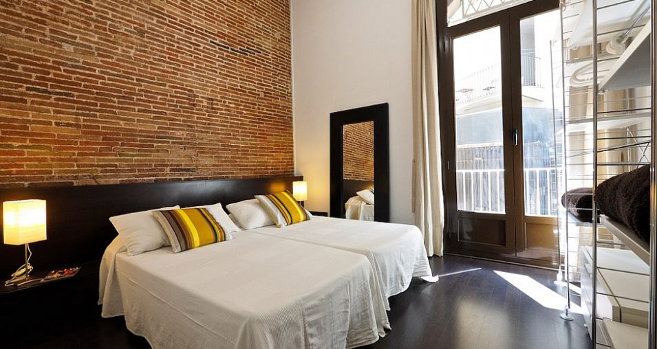 Pastel Interieur Barcelona : Top bed and breakfast apartments in barcelona
