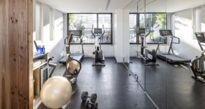 apartments with gym