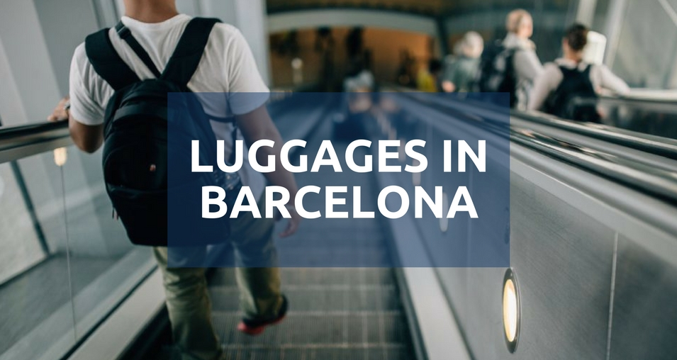 Luggages in barcelona