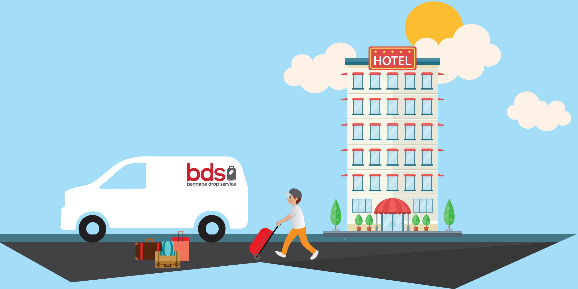 BDS Traslado de equipaje Barcelona