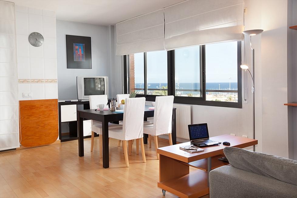 Appartement met zeeuitzicht
