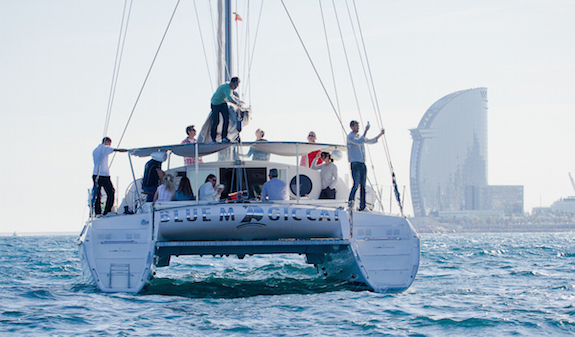 Blue Magic Catamaran and Sailing Boats- best boat trip in Barcelona