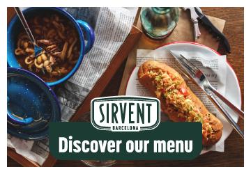 Sirvent-menu
