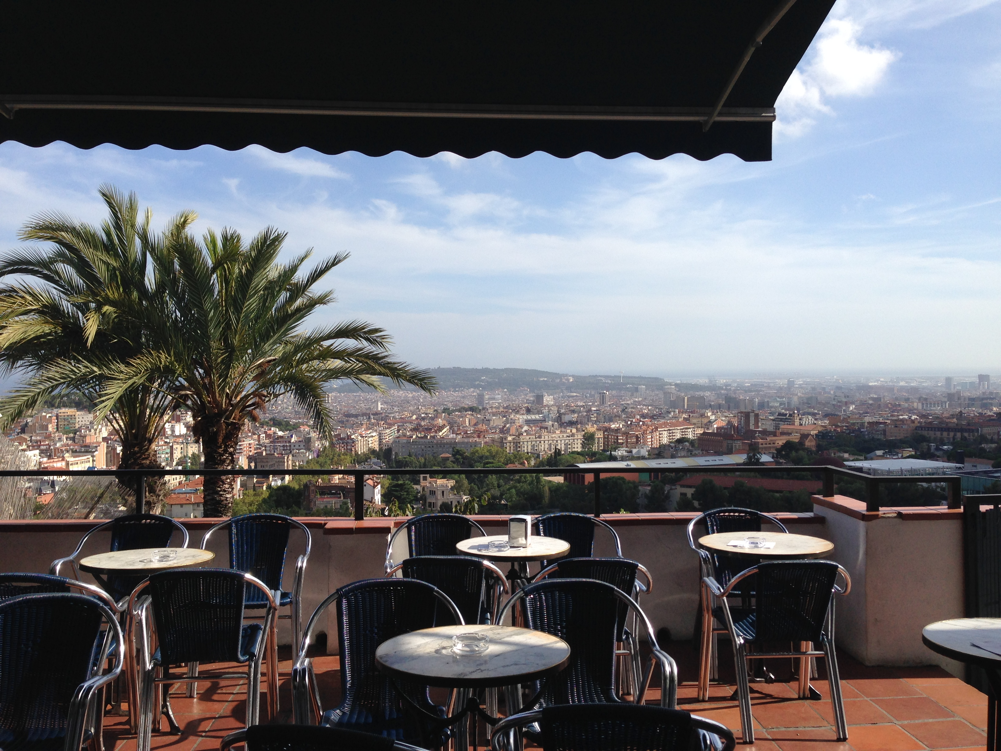 Restaurants with a view over Barcelona, Mirablau