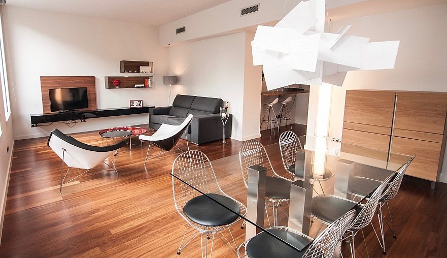 Apartments in the city center of Barcelona