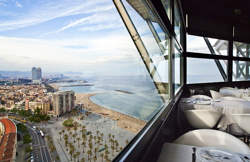 View over Barcelona, Torre d'Alta Mar