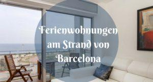 Ferienwohnungen am Strand von Barcelona
