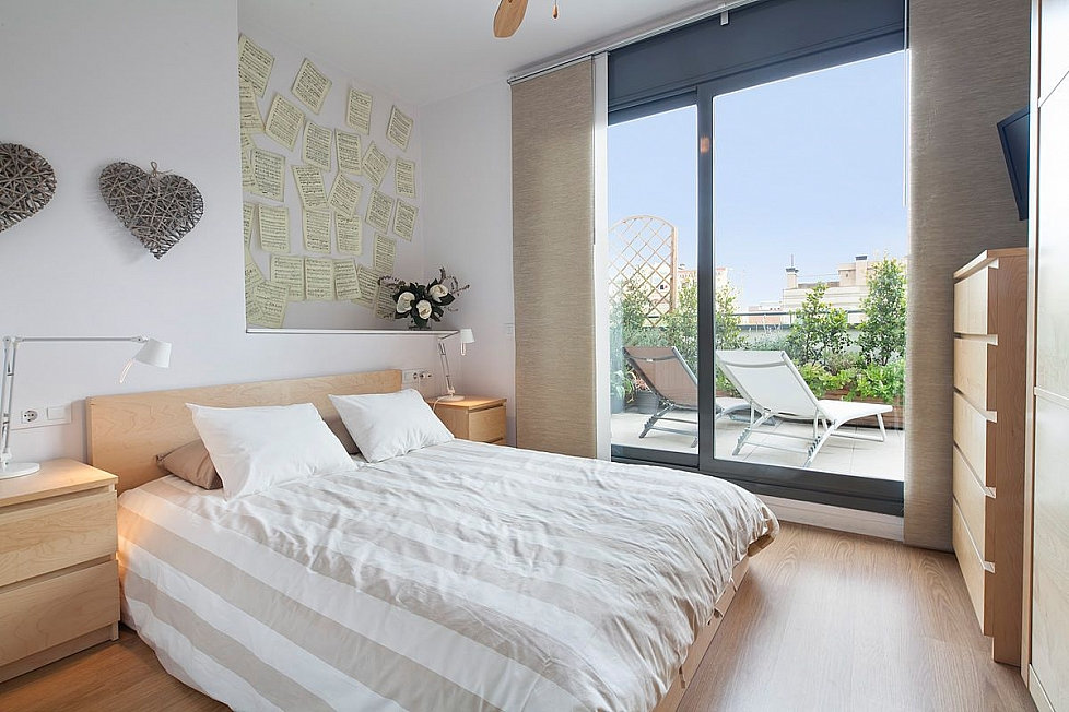 Romantic penthouse in Gracia
