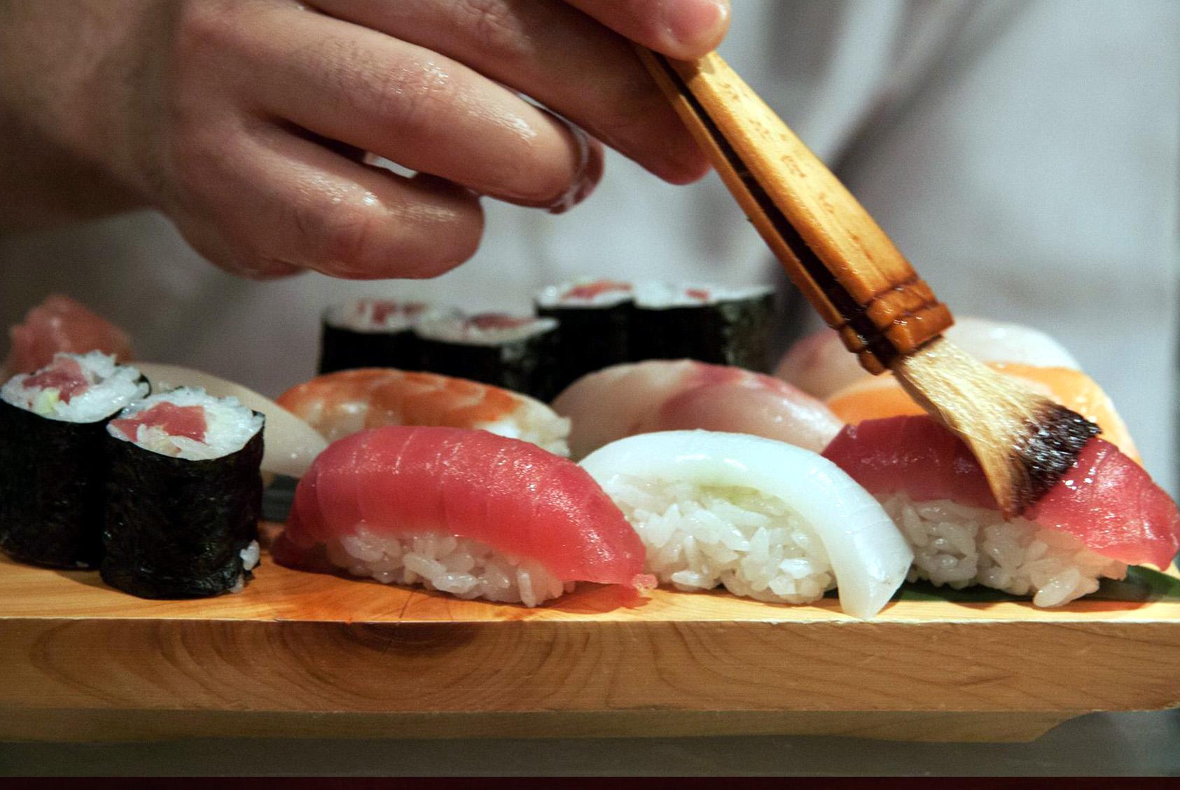 Tokyo sushi; Barcelona-Home