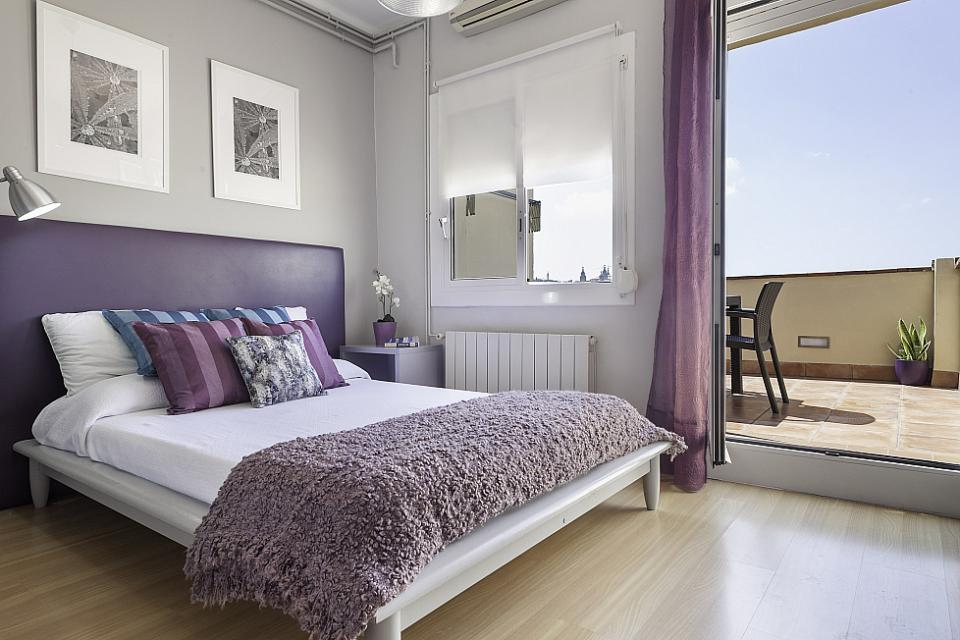 Attic with Private Terrace in Eixample; Barcelona-Home