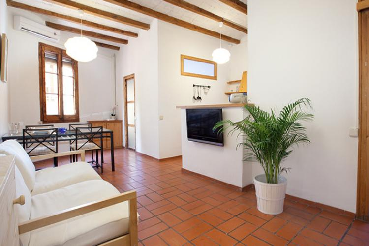 TWO BEDROOM APARTMENT IN GRACIA;barcelona-home
