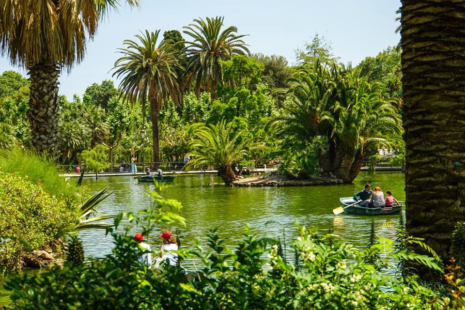 Rowboat at Ciutadella Park