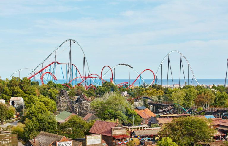 amusement parks in Barcelona