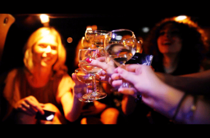 go party like a vip in barcelona - limo