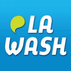 la wash text
