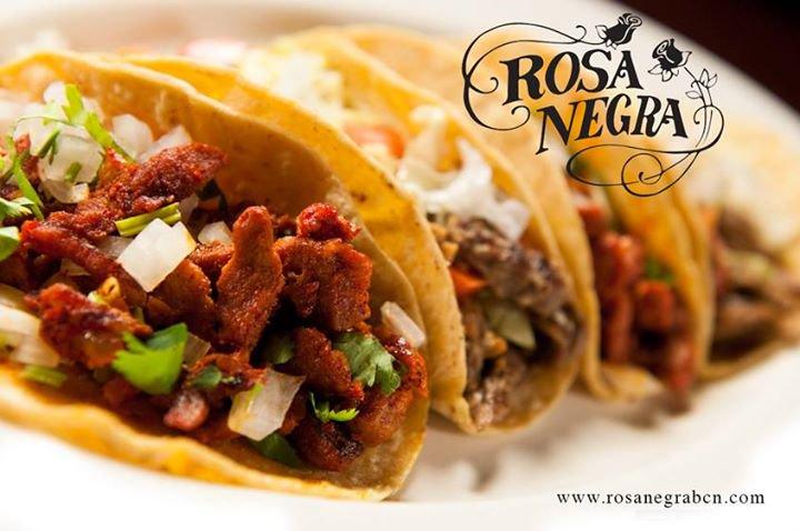 Rosa Negra Tacos Barcelona