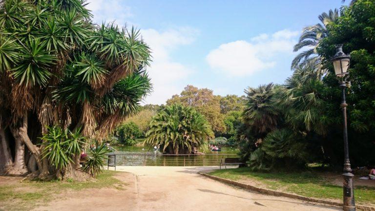 park yoga Barcelona