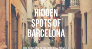 hidden spots ofbarcelonato table