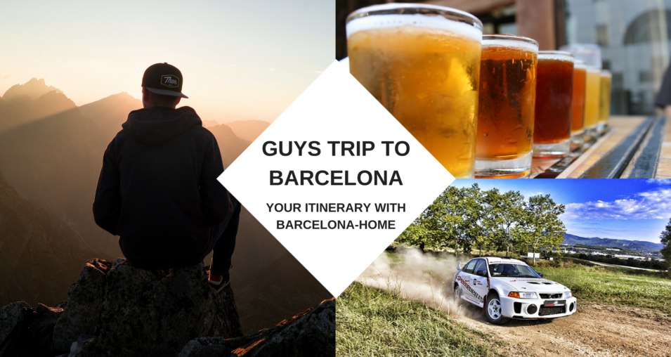 ultimate guys trip to barcelona