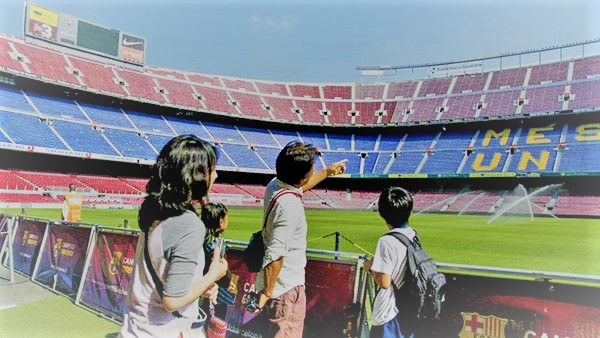 Barcelona Itinerary for football enthusiasts