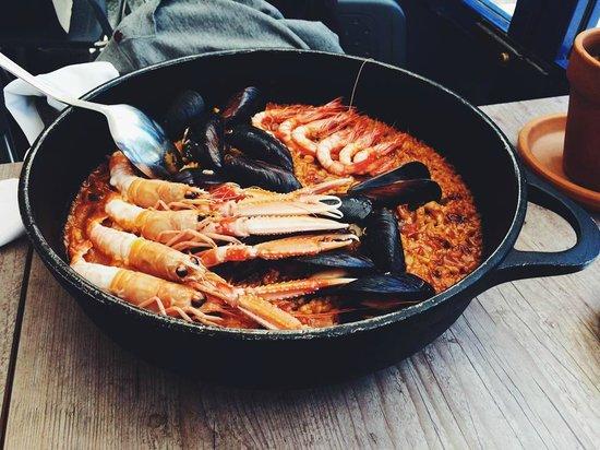 la mar salada Paella